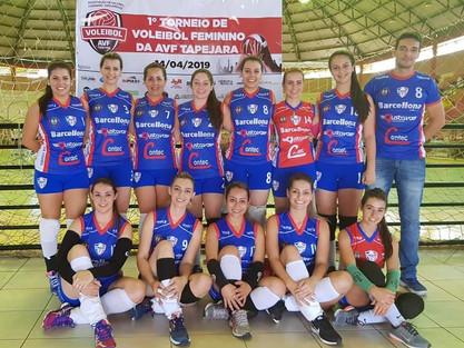 Lagoa Voleibol é Vice-Campeão