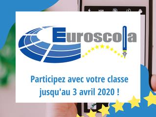 En classe de seconde ou de première ? Participez au concours Euroscola France 2020 !