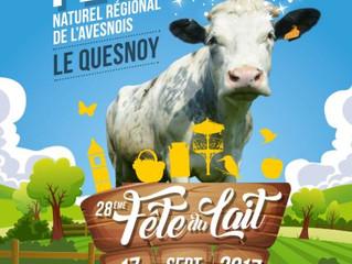 Retrouvez-nous pour la 28ème Fête du Lait à Le Quesnoy !
