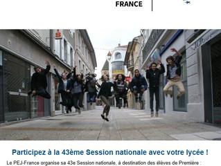 Parlement européen des jeunes : faîtes participer votre lycée !