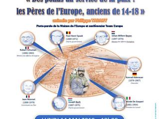 Joli mois de l'Europe : une conférence-débat ce lundi 14 mai à Felleries !