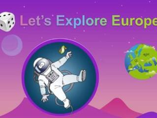 """Jeu en ligne """"A la découverte de l'Europe"""""""
