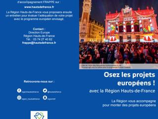 Osez les projets européens avec le FRAPPE Hauts-de-France !