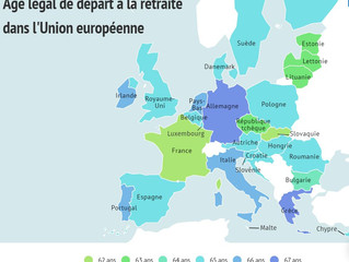 L'âge légal de départ à la retraite dans l'Union européenne
