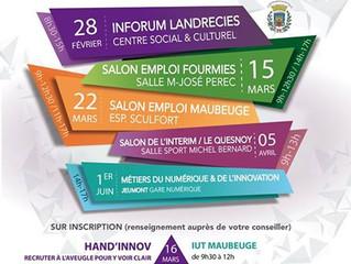 Forum Job City Tour demain à Maubeuge : nous vous y attendrons et avec des milliers d'offres d&#