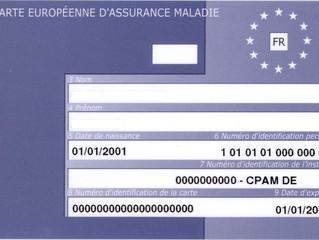 Vous partez en vacances dans un autre Etat membre européen ? Avez-vous pensé à la carte européenne d