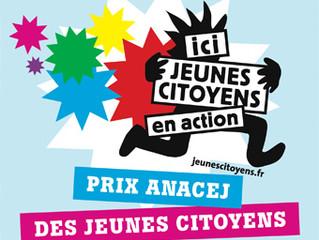 Prix Anacej des jeunes citoyens : lancement de l'édition 2018 !
