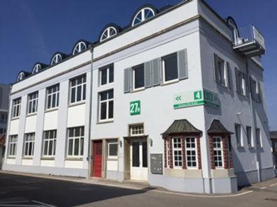 Open Loft Eingang Gebäude Schorndorf