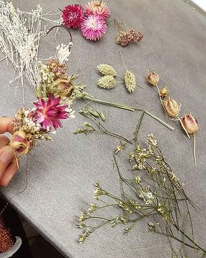 atelier floral - animation evjf - anniversaire - activité entreprise