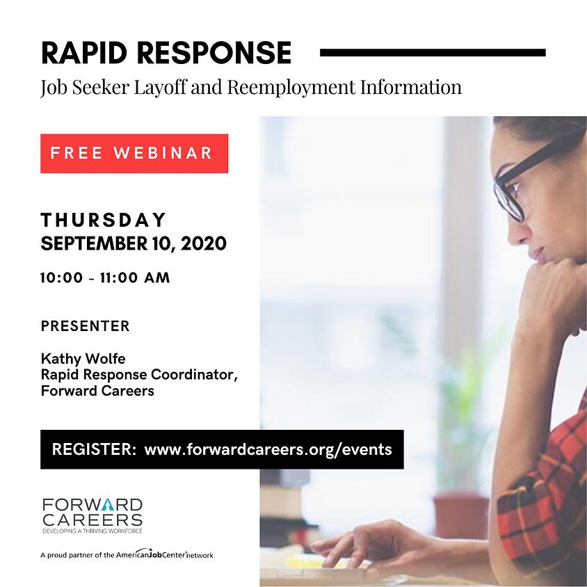 Rapid Response: Job Seeker Layoff & Reemployment Information