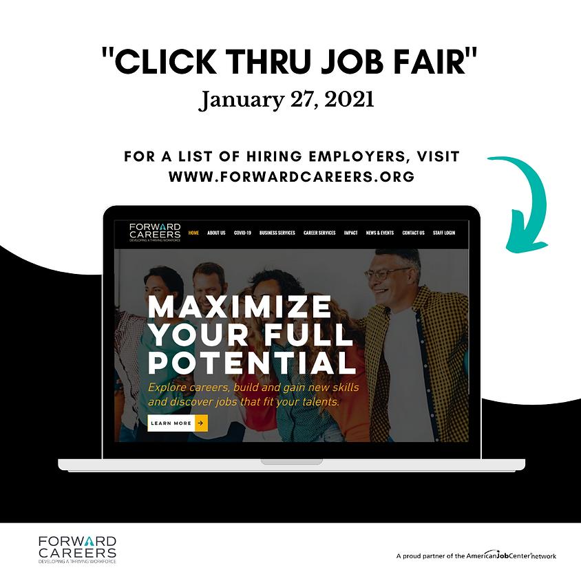 """Click Thru Job Fair"""