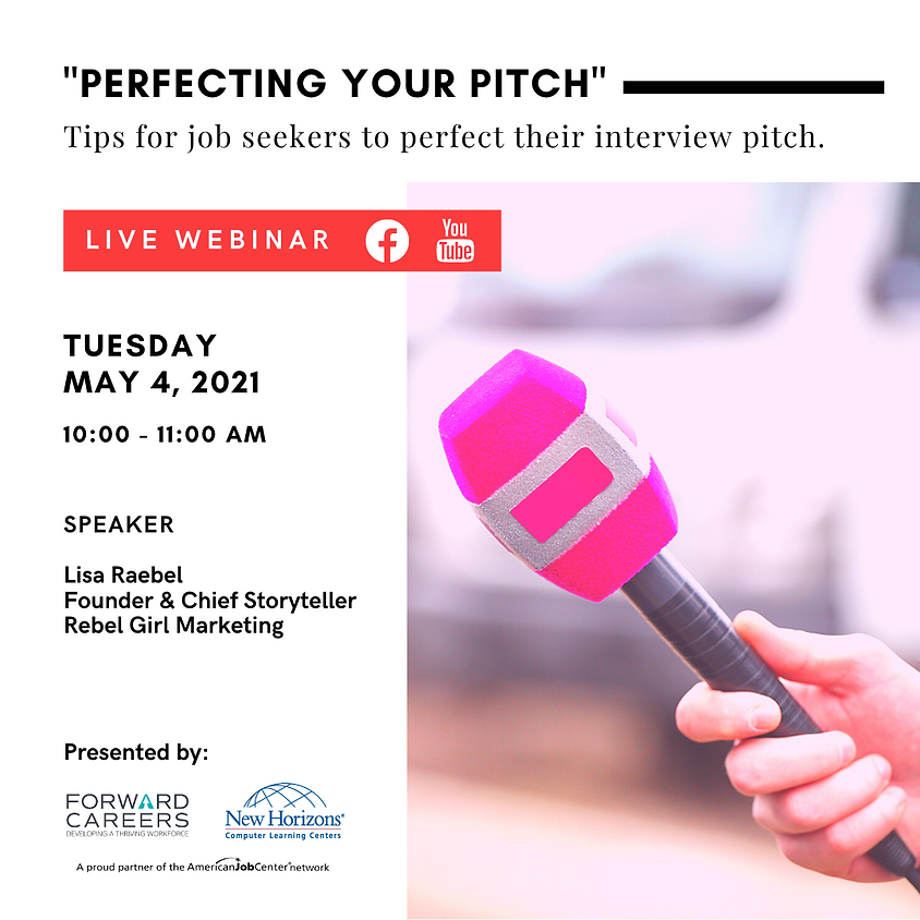 """""""Perfecting Your Pitch"""""""