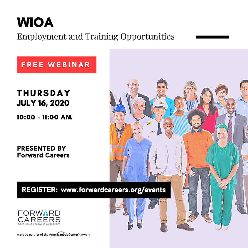 WIOA: Employment & Training Opportunities