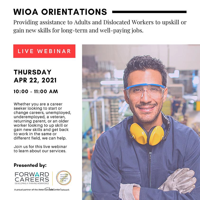 WIOA Orientation (Ages 25+) (1)