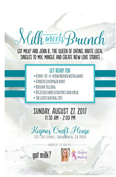 Dating Tips from Got Milk? Event August 27, 2017
