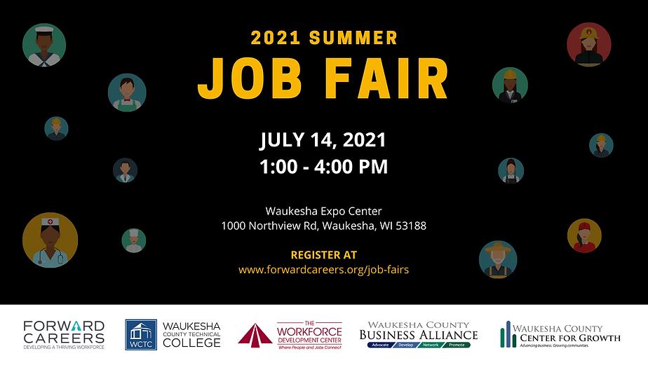 Summer 2021 Job Fair - Social Media Imag