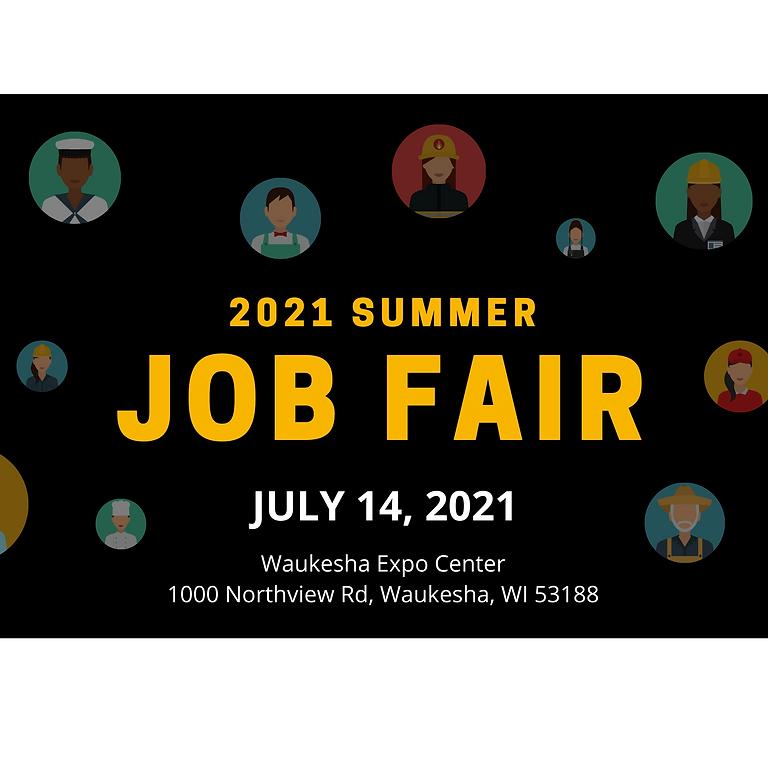 Summer 2021 Job Fair