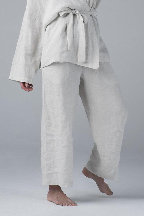 Linen loose pants