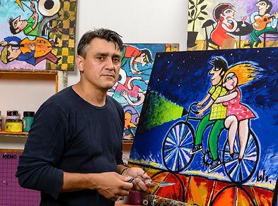 The artist Vova