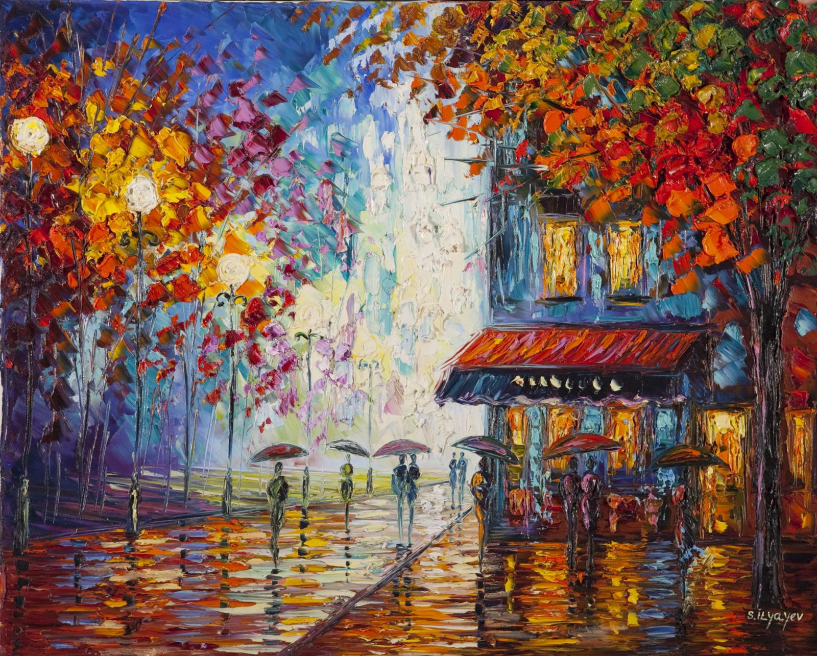 Slava Ilyayev's art