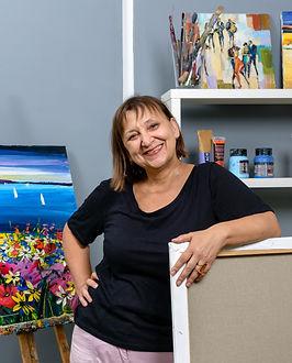 The artist Maya Green