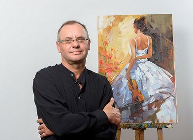 The artist Anatoly Metlan