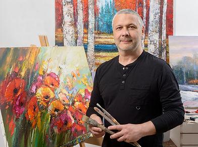 The artist Michael Milkin