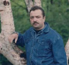 The artist Slava Brodinsky