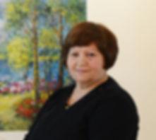 The artist Shafira Yablonski