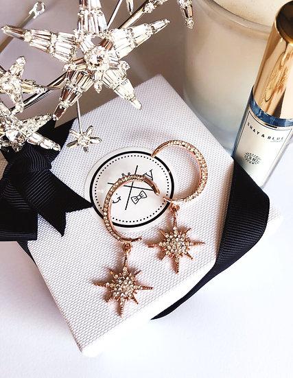 ECLIPSE Star & Moon Earrings