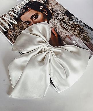 LUXE Pure Silk Hair Bow