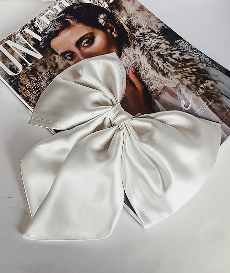 LUXE Pure Silk Hair Bow