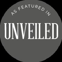 Unveiled magazine logo