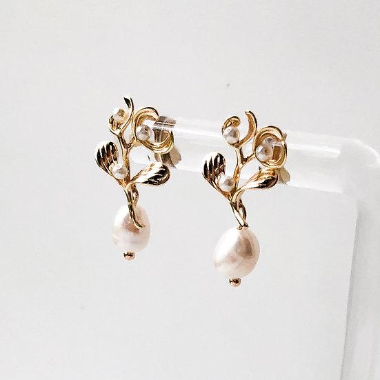 PERLE | Freshwater Pearl Earrings