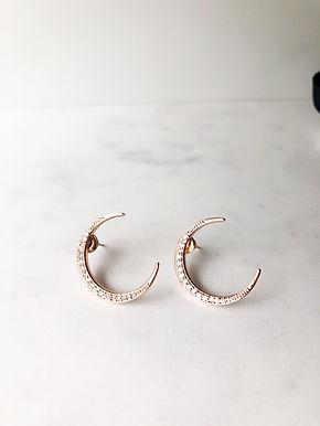 CERES Moon Earrings