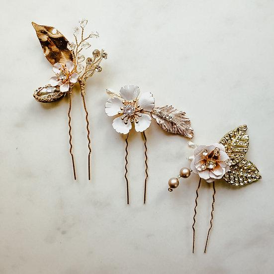 DAHLIA Hair pin Set