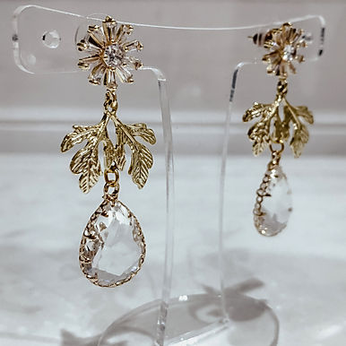 BOTANIC Crystal Earrings