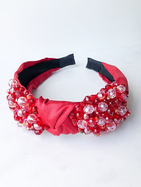 LOVE Crystal Embelished Headband