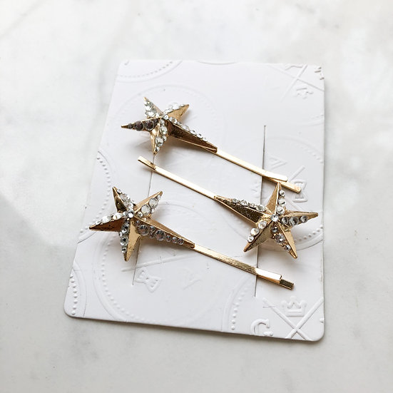 CHIRON Star Hair Pin Set