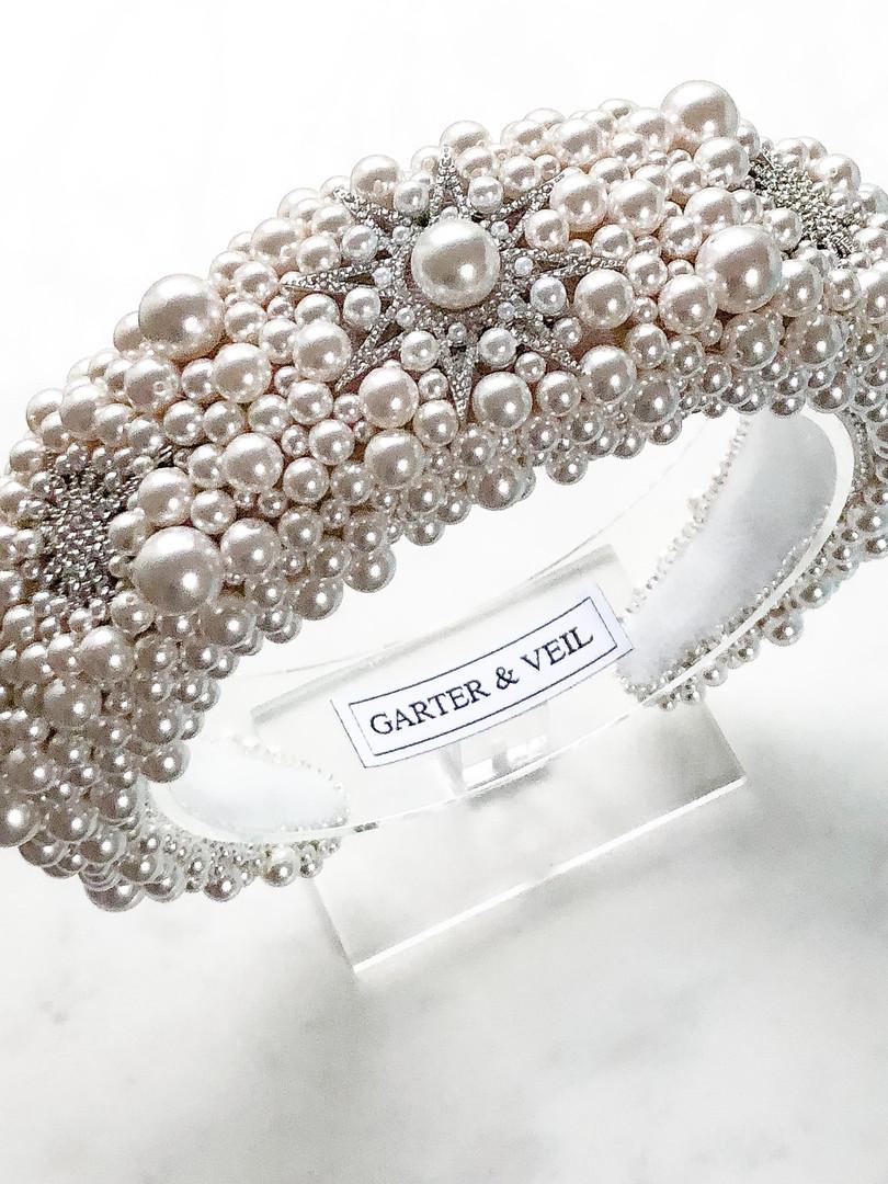 Bespoke Celestial Pearl Headband