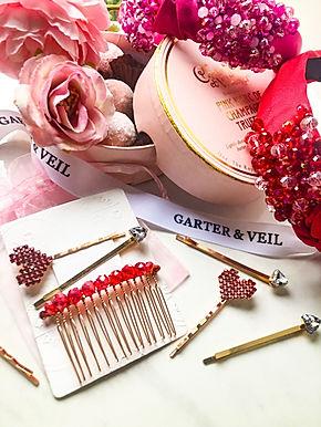 VALENTINE Pin & Comb Set