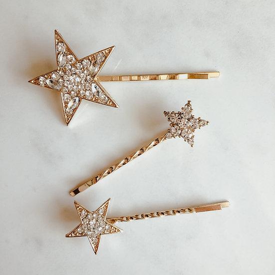 STELLAR Star Hairpins