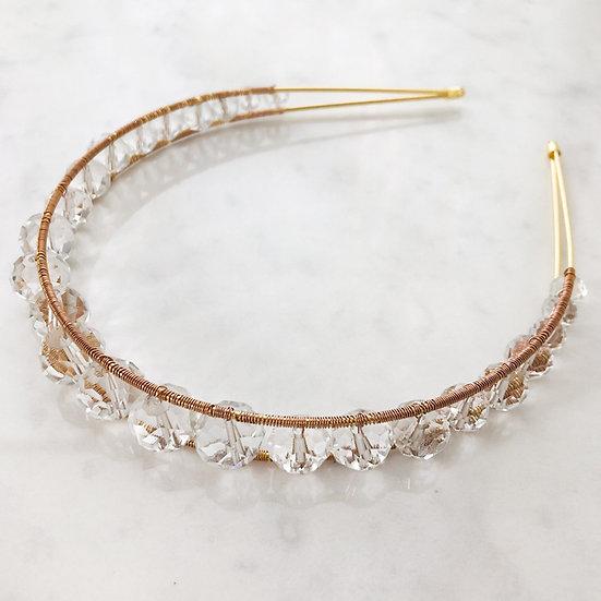 RADIANCE | Modern Crystal Crown