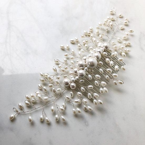 DIVINITY   Pearl Bridal Comb