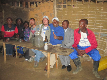 Beers after work in Congo