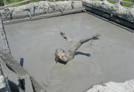 Mud pools in Columbia