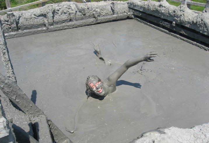 Mud pools in Columbia