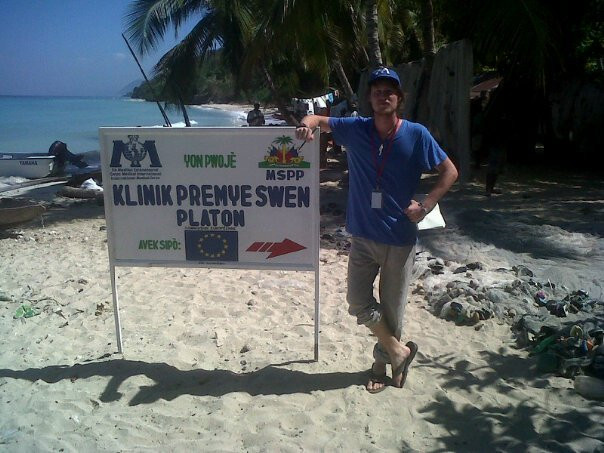 """""""The Boat Clinic"""" in Haiti during Cholera Response in 2011"""