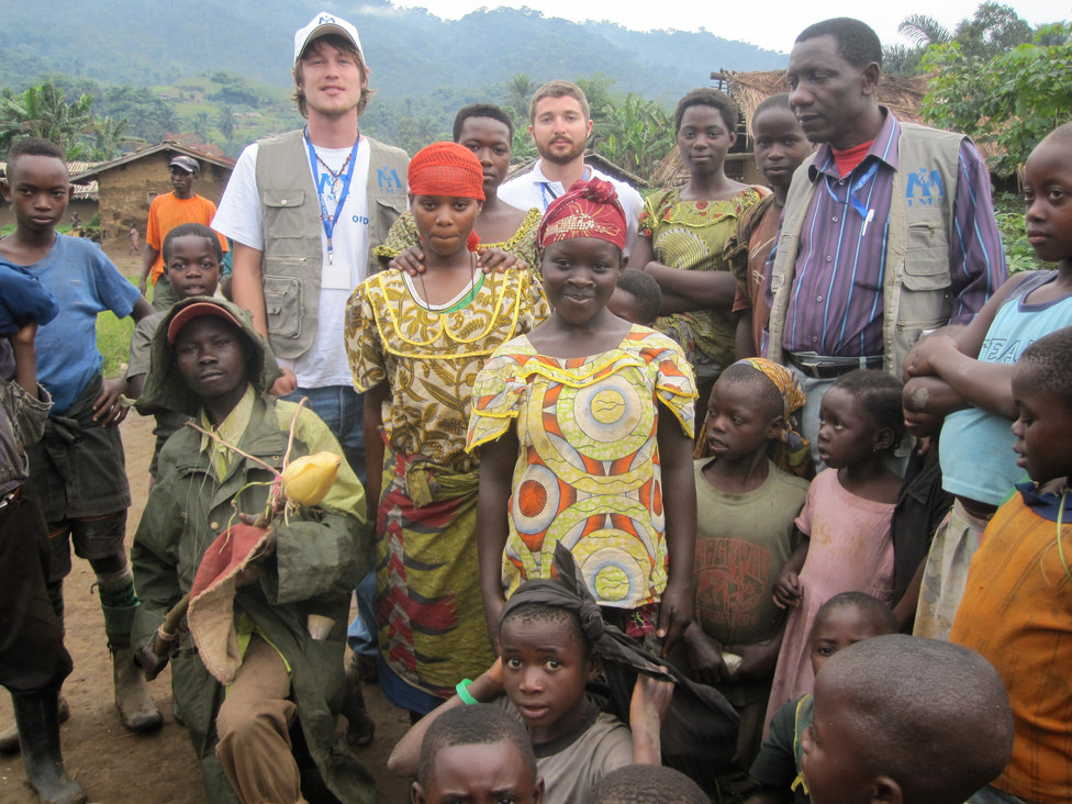 Ntoto, Democratic Republic of Congo with International Medical Corps
