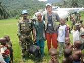 Democratic Republic of Congo with International Medical Corps in 2010